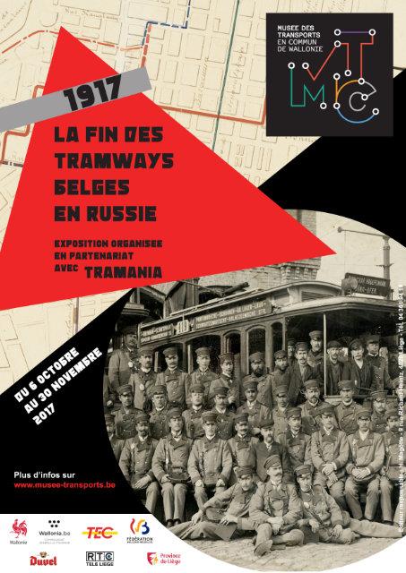 Expo: les tramways belges en Russie à Liège