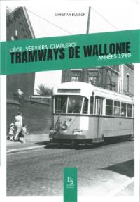 Tramways de Wallonie années 1960 par C. Buisson