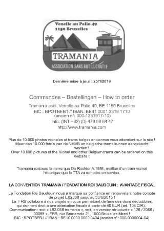 Catalogue Livres DVD - TRAMANIA