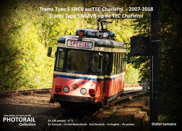 "Livre ""Type S SNCV au TEC Charleroi 2007-2018"""